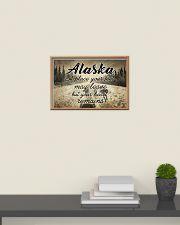 ALASKA PLACE YOUR HEART REMAINS 24x16 Poster poster-landscape-24x16-lifestyle-09