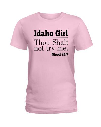 IDAHO GIRL THOU SHALT NOT TRY ME