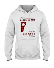 CANADIAN GIRL LIVING IN VERMONT WORLD Hooded Sweatshirt thumbnail