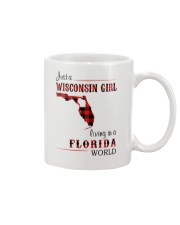 WISCONSIN GIRL LIVING IN FLORIDA WORLD Mug thumbnail