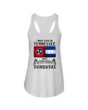 LIVE IN TENNESSEE BEGAN IN HONDURAS Ladies Flowy Tank thumbnail