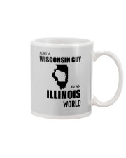 JUST A WISCONSIN GUY IN AN ILLINOIS WORLD Mug thumbnail