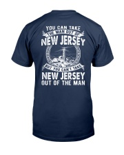 YOU CAN'T TAKE JERSEY  OUT OF MAN Classic T-Shirt back