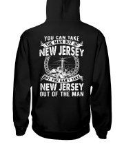 YOU CAN'T TAKE JERSEY  OUT OF MAN Hooded Sweatshirt thumbnail
