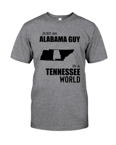 JUST AN ALABAMA GUY IN A TENNESSEE WORLD