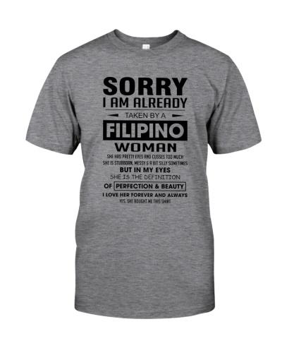 I AM  ALREADY TAKEN BY A FILIPINO WOMAN