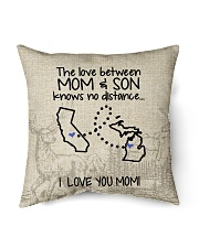 "MICHIGAN CALIFORNIA THE LOVE MOM AND SON Indoor Pillow - 16"" x 16"" front"