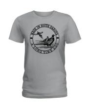 MADE IN SOUTH DAKOTA A LONG TIME AGO Ladies T-Shirt thumbnail