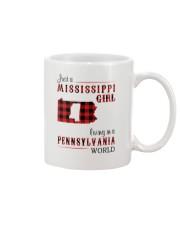 MISSISSIPPI GIRL LIVING IN PENNSYLVANIA WORLD Mug thumbnail