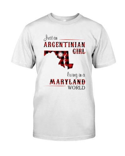 ARGENTINIAN GIRL LIVING IN MARYLAND WORLD
