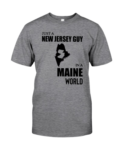 JUST A NEW JERSEY GUY IN A MAINE WORLD