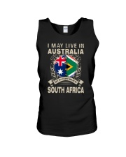 LIVE IN AUSTRALIA MY STORY IN SOUTH AFRICA Unisex Tank thumbnail