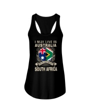 LIVE IN AUSTRALIA MY STORY IN SOUTH AFRICA Ladies Flowy Tank thumbnail
