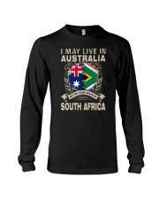 LIVE IN AUSTRALIA MY STORY IN SOUTH AFRICA Long Sleeve Tee thumbnail