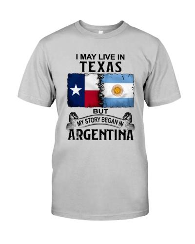 LIVE IN TEXAS BEGAN IN ARGENTINA