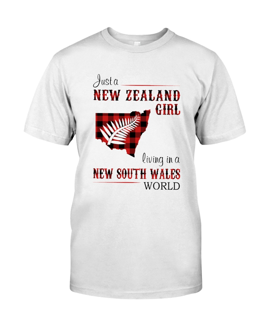 NEW ZEALAND GIRL LIVING IN NSW WORLD Classic T-Shirt