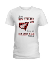 NEW ZEALAND GIRL LIVING IN NSW WORLD Ladies T-Shirt thumbnail