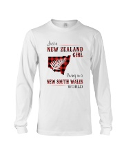 NEW ZEALAND GIRL LIVING IN NSW WORLD Long Sleeve Tee thumbnail