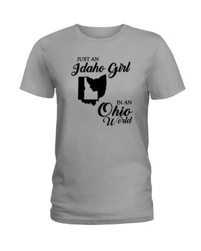 JUST AN IDAHO GIRL IN AN OHIO WORLD
