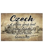 CZECH A PLACE YOUR HEART REMAINS 24x16 Poster front