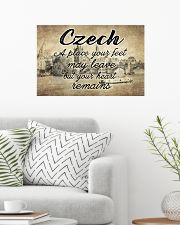 CZECH A PLACE YOUR HEART REMAINS 24x16 Poster poster-landscape-24x16-lifestyle-01