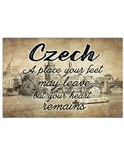 CZECH A PLACE YOUR HEART REMAINS Horizontal Poster tile