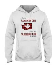 CANADIAN GIRL LIVING IN WASHINGTON WORLD Hooded Sweatshirt thumbnail