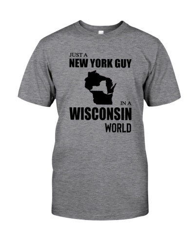 JUST A NEW YORK GUY IN A WISCONSIN WORLD