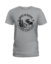 MADE IN MAINE A LONG TIME AGO Ladies T-Shirt thumbnail