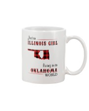 ILLINOIS GIRL LIVING IN OKLAHOMA WORLD Mug thumbnail