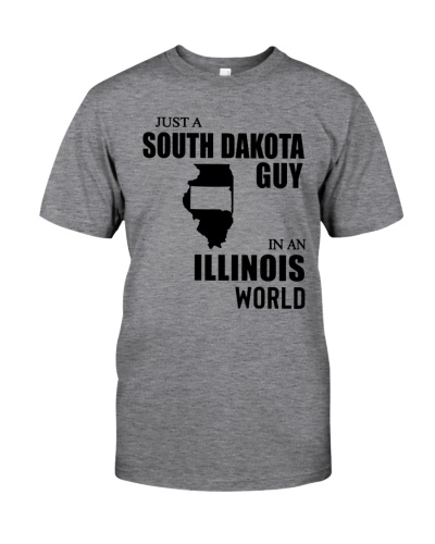 JUST A SOUTH DAKOTA GUY IN AN ILLINOIS WORLD
