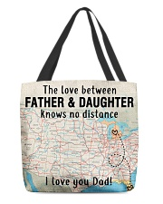 MICHIGAN FLORIDA FATHER DAUGHTER I LOVE DAD All-over Tote thumbnail