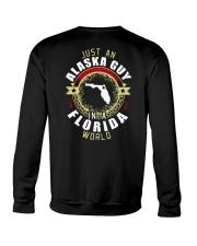 ALASKA GUY IN FLORIDA WORLD Crewneck Sweatshirt thumbnail