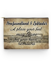 NEWFOUNDLAND LABRADORS PLACE YOUR HEART REMAINS Accessory Pouch - Large thumbnail