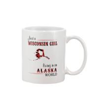WISCONSIN GIRL LIVING IN ALASKA WORLD Mug thumbnail