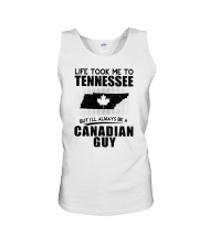 CANADIAN GUY LIFE TOOK TO TENNESSEE Unisex Tank thumbnail