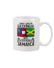 LIVE IN GEORGIA BEGAN IN JAMAICA Mug thumbnail