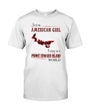 AMERICAN GIRL LIVING IN PRINCE EDWARD WORLD Classic T-Shirt front