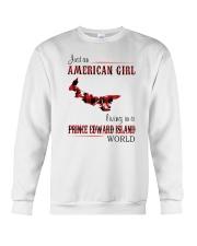 AMERICAN GIRL LIVING IN PRINCE EDWARD WORLD Crewneck Sweatshirt thumbnail