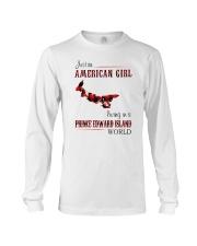 AMERICAN GIRL LIVING IN PRINCE EDWARD WORLD Long Sleeve Tee thumbnail
