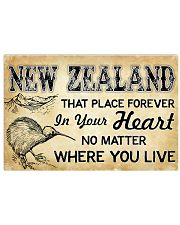 NEW ZEALAND THAT PLACE FOREVER IN YOUR HEART 17x11 Poster front