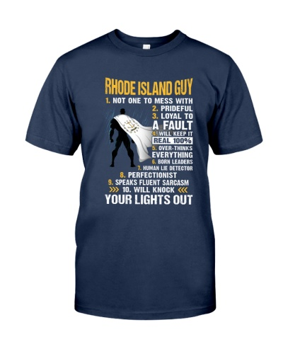 RHODE ISLAND GUY YOUR LIGHTS OUT