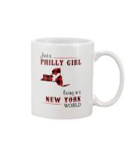PHILLY GIRL LIVING IN NEW YORK WORLD Mug thumbnail