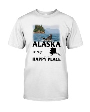 ALASKA IS MY HAPPY PLACE Classic T-Shirt thumbnail
