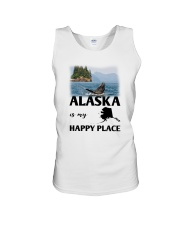 ALASKA IS MY HAPPY PLACE Unisex Tank thumbnail