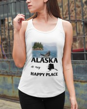 ALASKA IS MY HAPPY PLACE Ladies Flowy Tank apparel-ladies-flowy-tank-lifestyle-06
