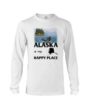 ALASKA IS MY HAPPY PLACE Long Sleeve Tee thumbnail