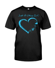 JUST A UTICA GIRL Classic T-Shirt tile