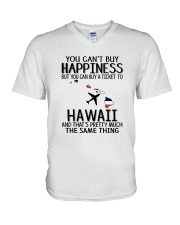 YOU CAN BUY A TICKET TO HAWAII V-Neck T-Shirt thumbnail