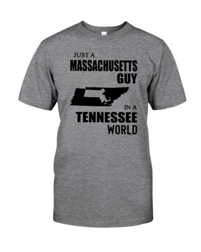 JUST A MASSACHUSETTS GUY IN A TENNESSEE WORLD